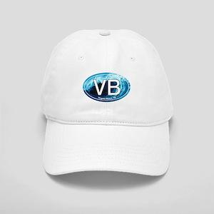 Vb Virginia Beach Wave Oval Cap