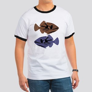 FIN-trigger-fish-TWO T-Shirt