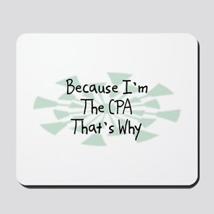 Because CPA Mousepad