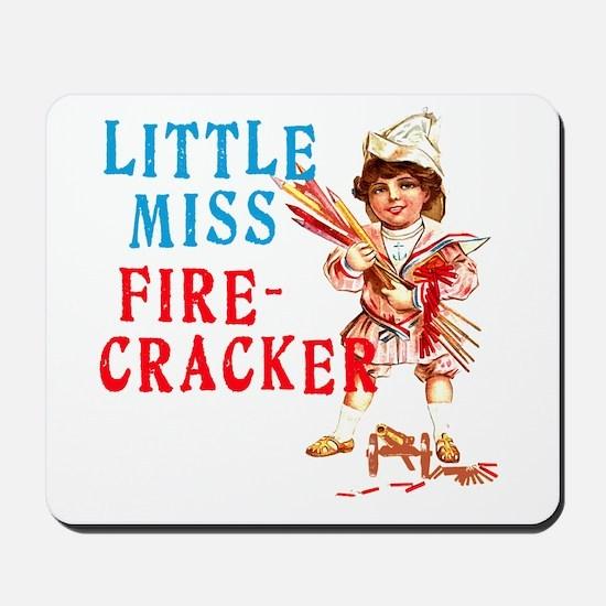 Vintage Miss Firecracker Mousepad