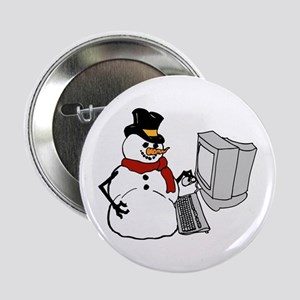 Snowman at the Computer Button