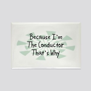 Because Conductor Rectangle Magnet