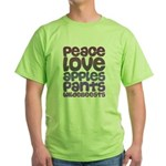 Apples and Pants Green T-Shirt