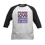 Apples and Pants Kids Baseball Jersey