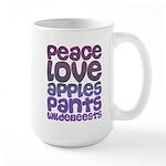 Apples and Pants Large Mug