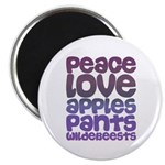 Apples and Pants Magnet
