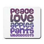 Apples and Pants Mousepad
