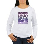Apples and Pants Women's Long Sleeve T-Shirt