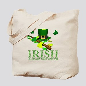IRISH DOWN TO MY TOES Tote Bag