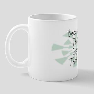 Because Civil Engineer Mug