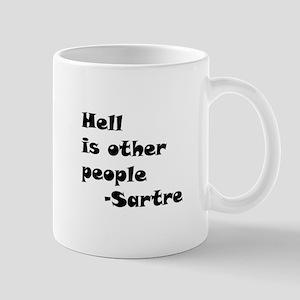 HellIsOtherPeopleCircle Mugs
