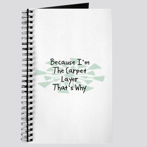 Because Carpet Layer Journal