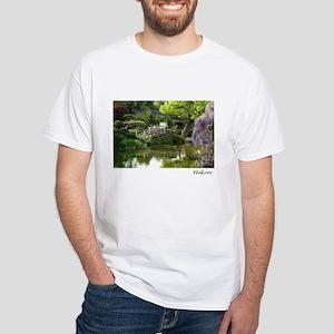 Moon Bridge White T-Shirt
