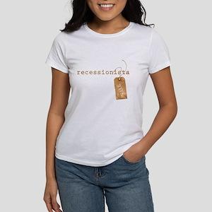 RECESSIONISTA - Women's T-Shirt