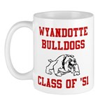 wyandotte bulldogs class of 1951 Mugs