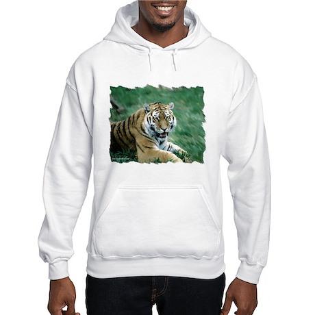 """Resting Tiger - B3"" Hooded Sweatshirt"