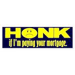 Honk Bumper Sticker
