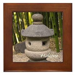 Misaki Lantern Framed Tile