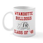 wyandotte bulldogs class of 1949 Mugs
