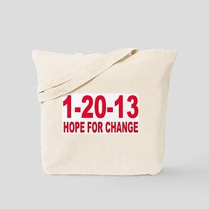 Obama's last day 01.20.13 Tote Bag