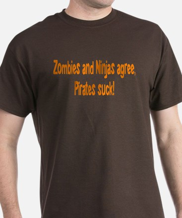 Pirates Suck T-Shirt