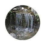 Pond Waterfall Ornament (Round)