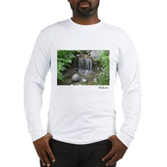 Pond Waterfall Long Sleeve T-Shirt