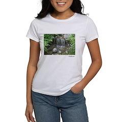 Pond Waterfall Women's T-Shirt