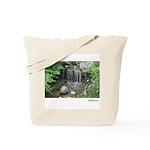 Pond Waterfall Tote Bag