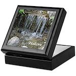 Pond Waterfall Keepsake Box
