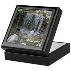 Pond Waterfall Keepsake Box