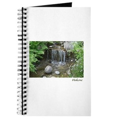 Pond Waterfall Journal