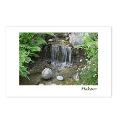 Pond Waterfall Postcards (Package of 8)