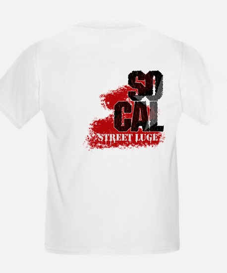 <B>So Cal Street Luge</B><BR> Kids T-Shirt