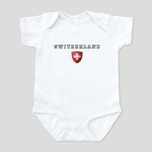 Switzerland Crest Infant Bodysuit