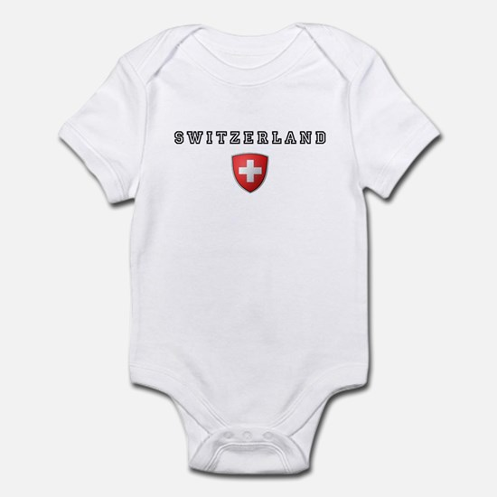 Switzerland Crest Infant Bodysuit