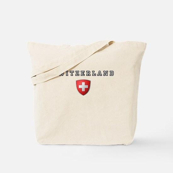 Switzerland Crest Tote Bag