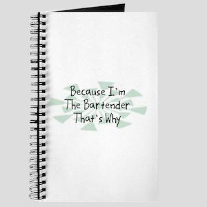 Because Bartender Journal
