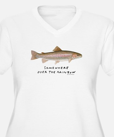somewhere over the rainbow Plus Size T-Shirt