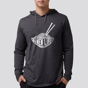 Ramen Life Noodle Bowl Long Sleeve T-Shirt