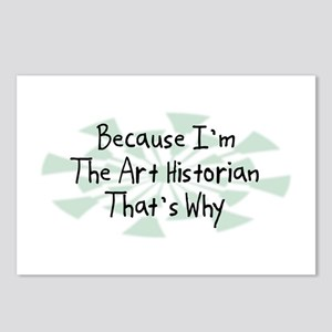 Because Art Historian Postcards (Package of 8)