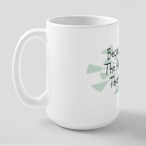Because Architect Large Mug
