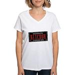 Mitchum Women's V-Neck T-Shirt