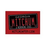 Mitchum Rectangle Magnet Magnets