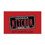 Mitchum Rectangle Car Magnet
