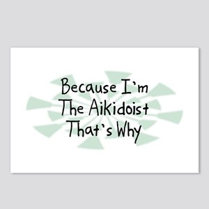 Because Aikidoist Postcards (Package of 8)