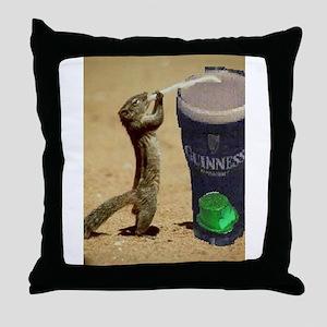 Irish Shop Throw Pillow