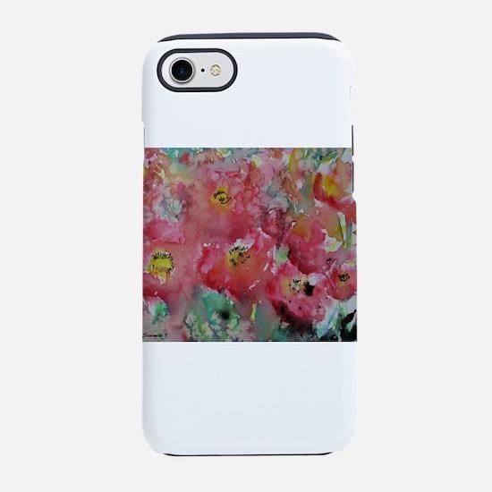Poppies! Floral art! iPhone 7 Tough Case