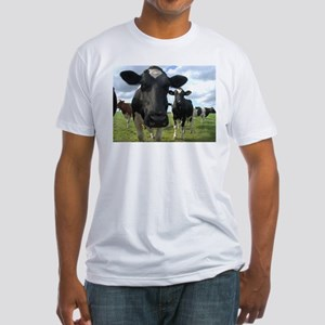 Heres Lookin At You Babe! Fitted T-Shirt