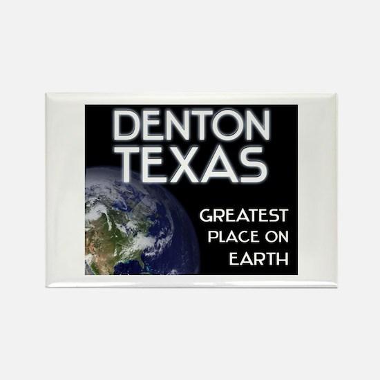 denton texas - greatest place on earth Rectangle M